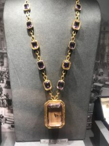 Hancocks London Grima Amethyst Necklace