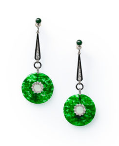 Marjan Sterk Jadeite Earrings