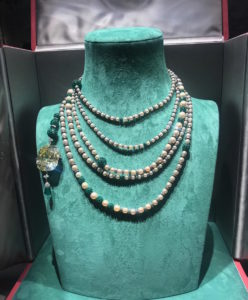 Symbolic & Chase Pearl Necklace pearl natural drop grey colour jewellery discovery TEFAF