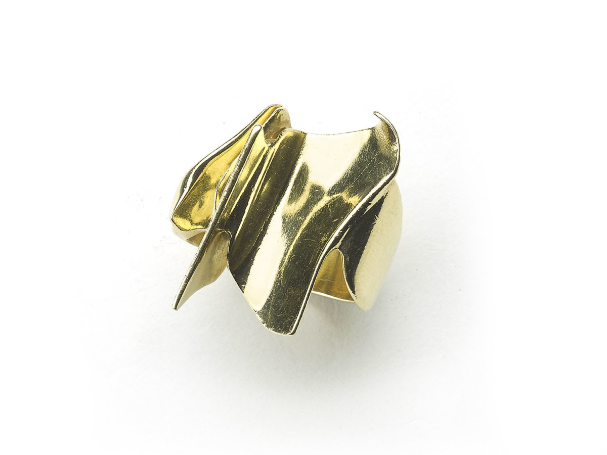 Abstract design rings