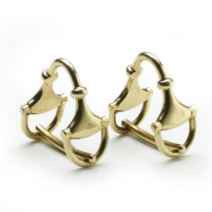 Vintage Gucci Gold Cufflinks