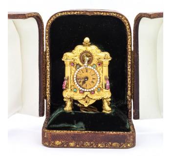Antique Georgian Gold Carriage Clock