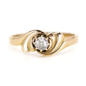 Antique Art Nouveau Diamond Ring