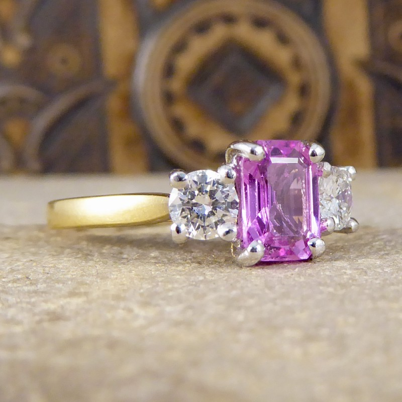 Sapphire (Pink) Rings