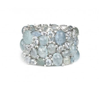 369.00ct Aquamarine Bracelet