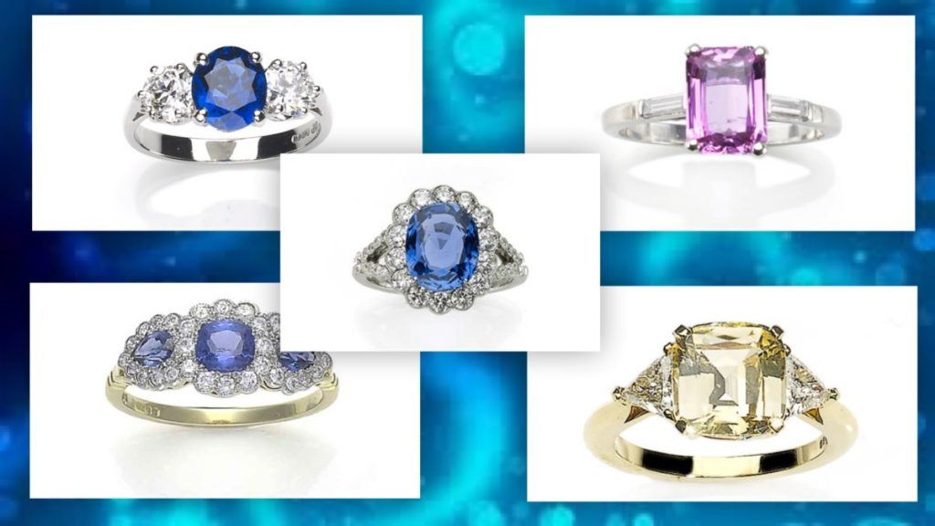 Sapphire engagement rings by style