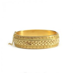 ANTIQUE VICTORIAN GOLD BANGLE