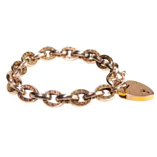 Antique Gold Charm Bracelet BB2