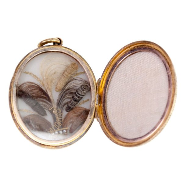 Mourning Lockets - The locket was hugely popular during the Victorian period.