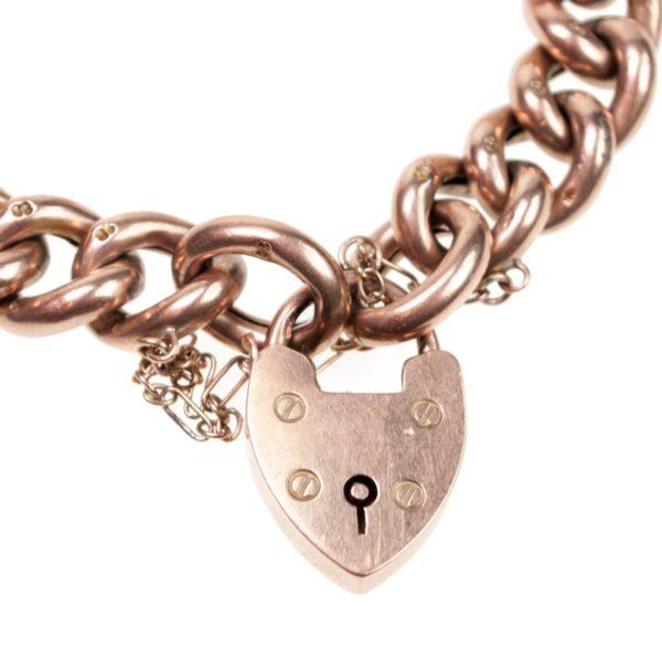 Antique Victorian Gold Charm Bracelet BB2