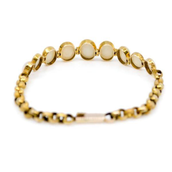 Antique Victorian Opal Gold Bracelet BB3