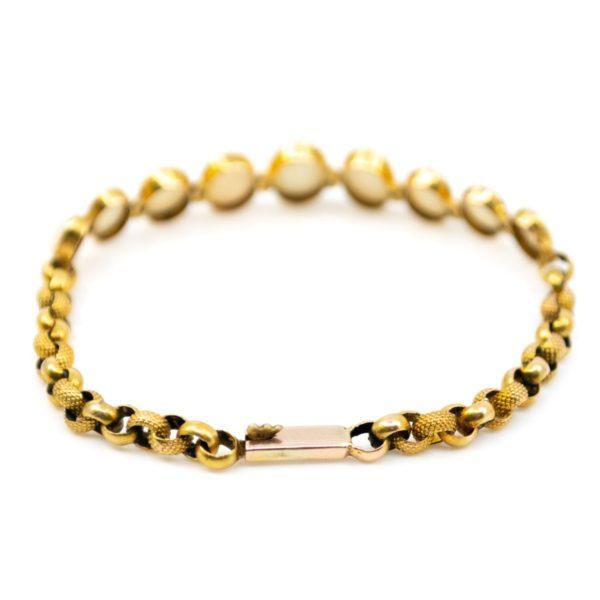 Antique Victorian Opal Gold Bracelet BB4