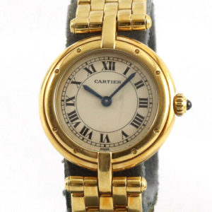 Cartier Ladies Panthere Vendome in 18K Yellow Gold. With Box