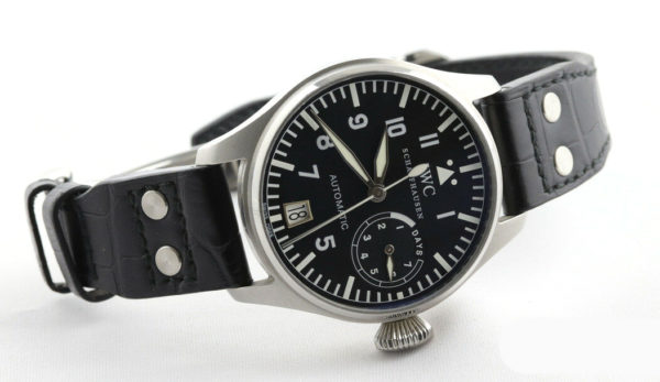 Men's IWC, Big Pilot Automatic Watch, Box & Papers