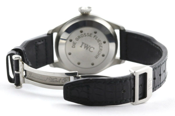 Round IWC Watch