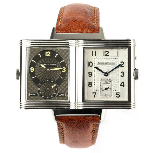 Gentlemen's Jaeger LeCoultre Reverso Grande Taille Deface Stainless Steel