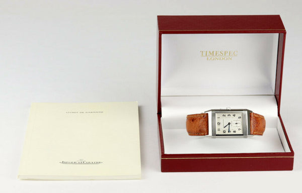 boxed Jaeger-LeCoultre Reverso Grande Taille Duoface Day & Night With Papers