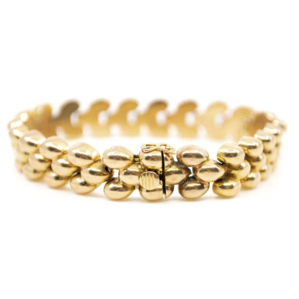 Vintage Gold Link Bracelet BB2