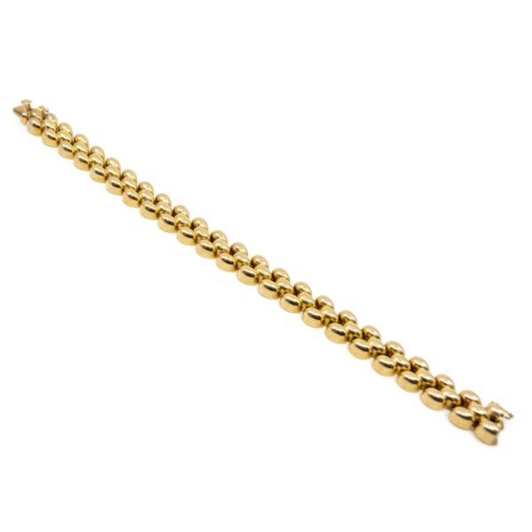 Vintage Gold Link Bracelet BB5