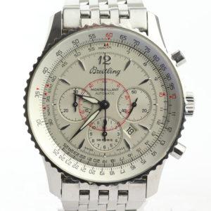 Gents Breitling Navitimer Montbrillant Automatic Chronograph Wristwatch