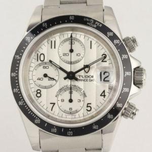 Gents Tudor Prince Date Automatic Chronograph Wristwatch