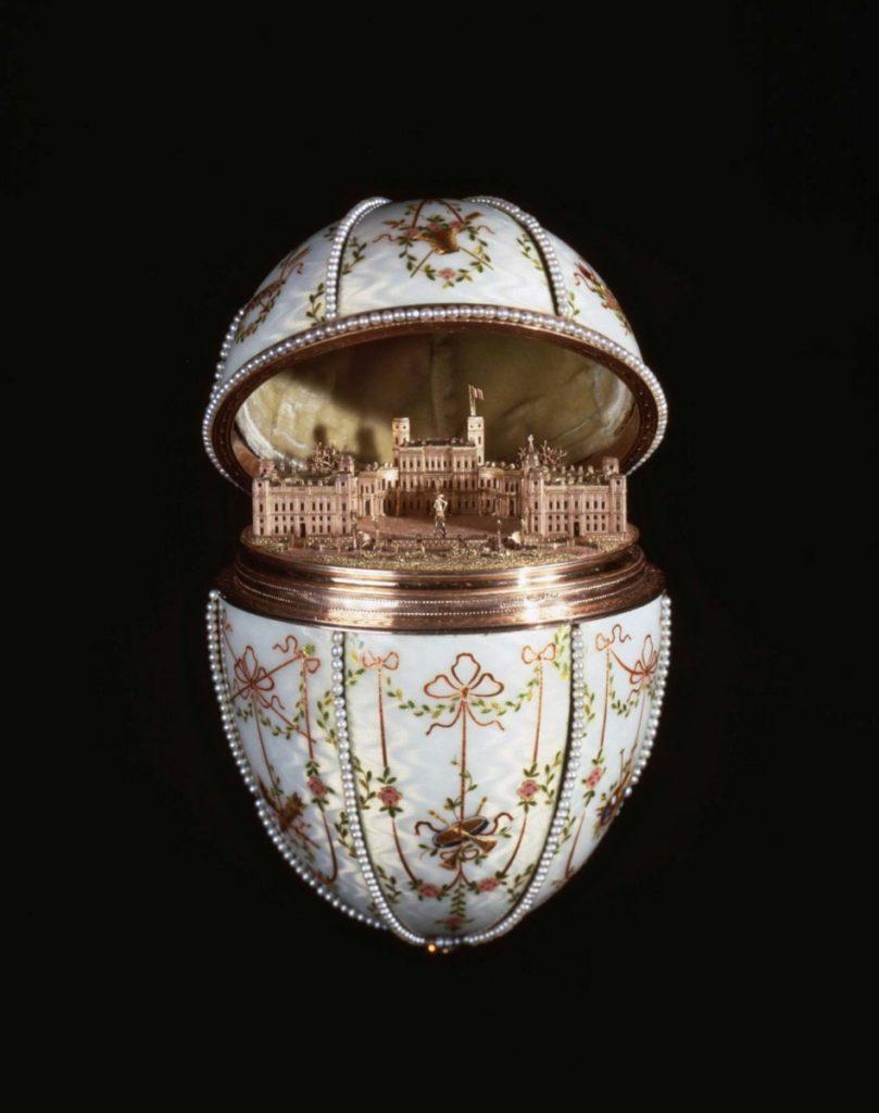Faberge Imperial Gatchina Palace Egg