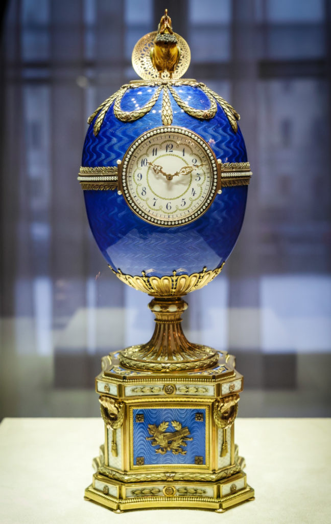 Faberge Kelch Chanticleer Egg