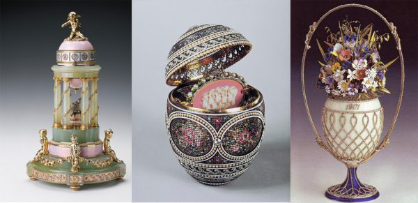 Queen Elizabeth II Faberge Egg Collection