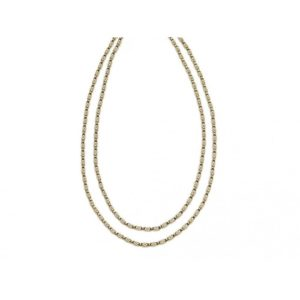 Antique French Long Guard 18ct Gold Chain
