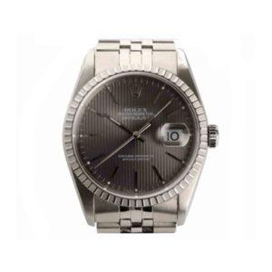 Gents Rolex Datejust Tapestry Dial Wristwatch