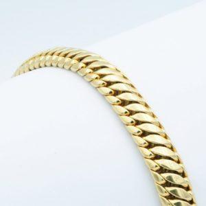Vintage Fancy Link Gold Bracelet