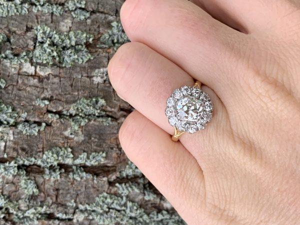 Antique vintage Diamond engagement rings christmas London