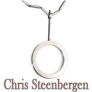 Vintage Chris Steenbergen Silver Necklace and Pendant