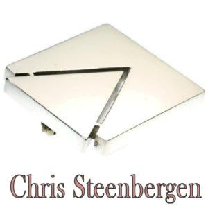 Vintage Chris Steenbergen Silver Brooch