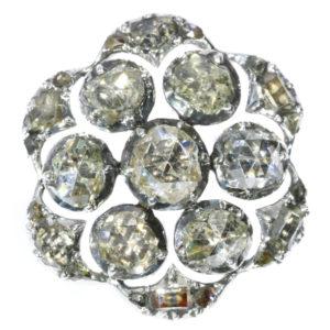 Antique Georgian Diamond Button