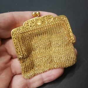 High Quality Antique Victorian French Gold Purse