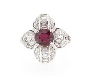 Anniversary Jewellery 40th Ruby