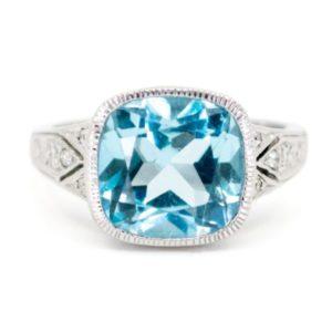 Anniversary Jewellery 4th Blue Topaz