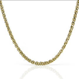 Spiga Link 18ct Gold Necklace