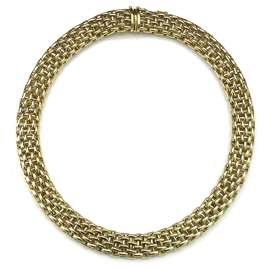Vintage Italian 18ct Gold Necklace by Fope