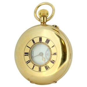 Antique JW Benson Gold Pocket Watch, Circa 1931
