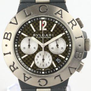 Bulgari Diagono Titanium Gents Watch Chronograph Automatic 44mm