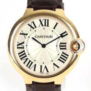 Cartier Ballon Bleu Ultra Thin 18ct Rose Gold Watch 40mm