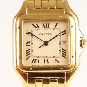 Cartier Pantheré Midsize 18ct Gold Watch
