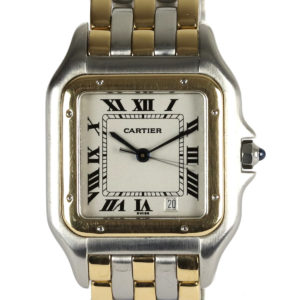 Cartier Panthere Steel & Gold Midi Size 27mm Watch