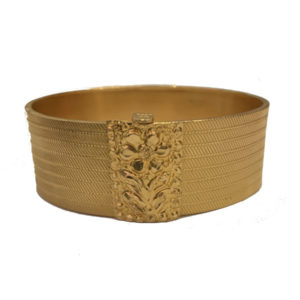 Turkish 'Trabzon' Style 22ct Yellow Gold Bangle
