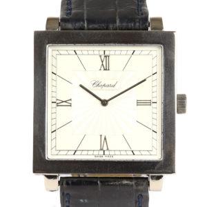 Vintage Chopard 18ct White Gold 35mm Gents Watch