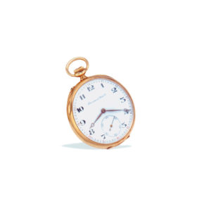 IWC Gold Pocket Watch
