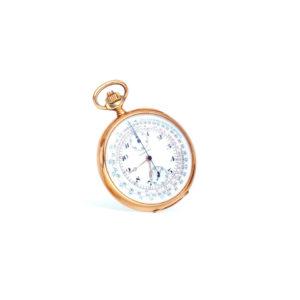Antique Longines Gold Pocket Watch