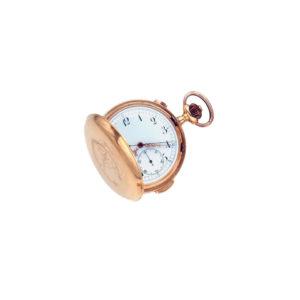 Antique Victorian Geneve Gold 'Medaille' Pocket Watch